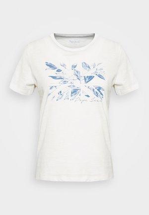 ADRIANA - Print T-shirt - mousse