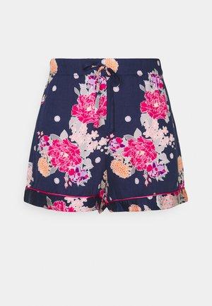 LUXE SHORTS - Pyjamabroek - kiku navy