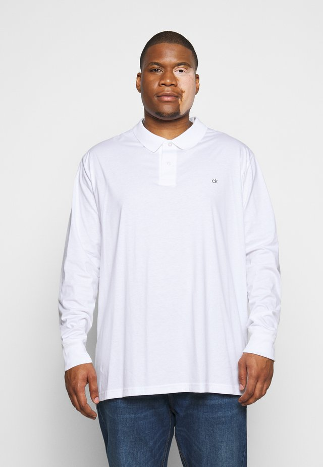 LIQUID TOUCH LONG SLEEVE - Polo - white