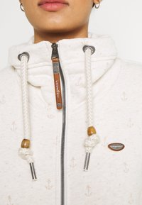 Ragwear - RYLIE MARINA ZIP - Zip-up sweatshirt - beige - 5