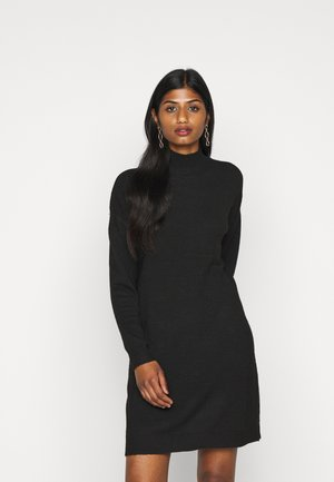 ONLPRIME DRESS - Strikket kjole - black
