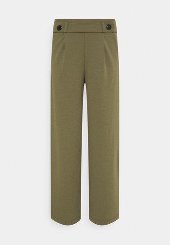 JDYGEGGO NEW LONG  - Trousers - kalamata/black