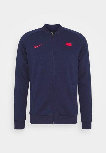 FRANKREICH FFF - Klubbkläder - blackened blue/university red