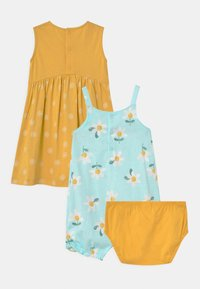 Carter's - FLORAL SET - Overal - mint/yellow - 1