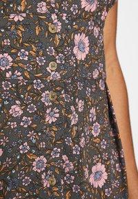 Cotton On - WOVEN PUFF SLEEVE MIDI DRESS - Day dress - black - 5