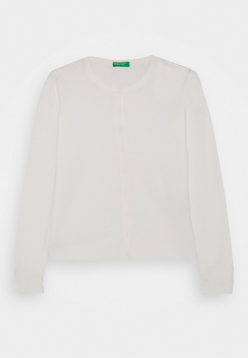 Benetton - BASIC GIRL  - Cardigan - white