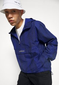 adidas Originals - WINDBREAKER - Giacca leggera - victory blue/black - 6
