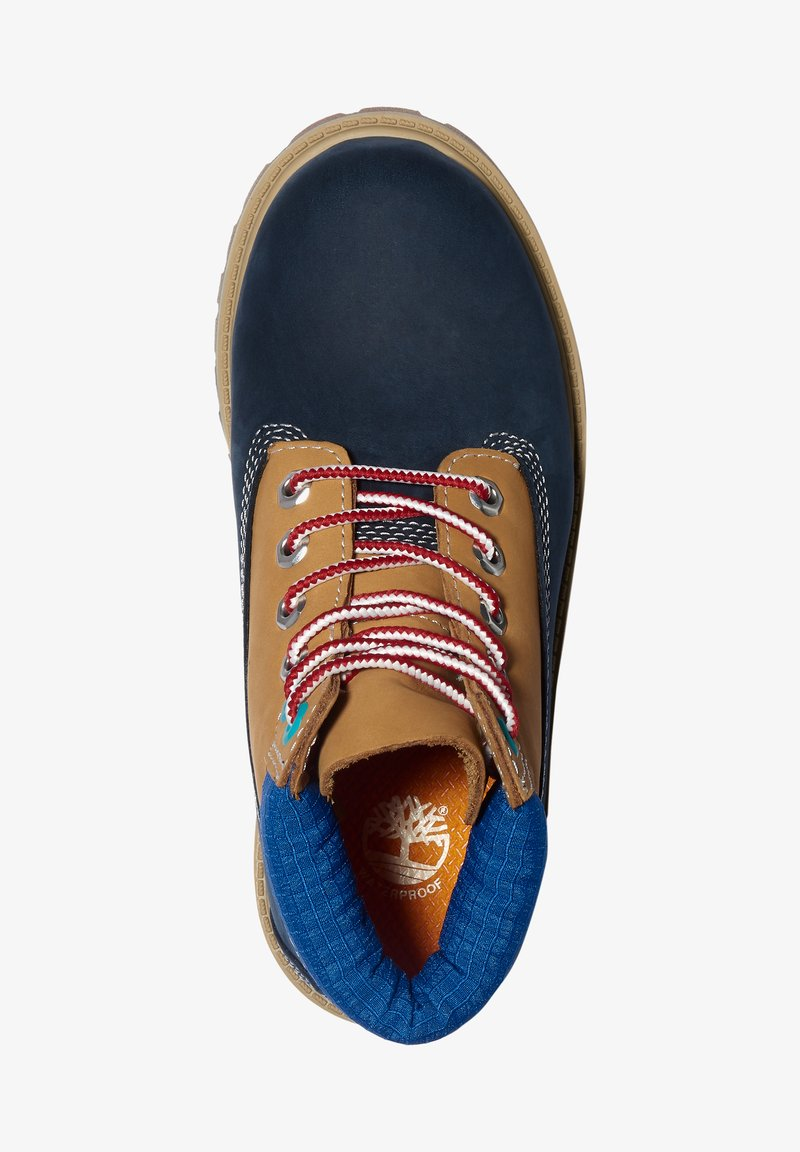 Timberland - Lace-up ankle boots - navy nubuck