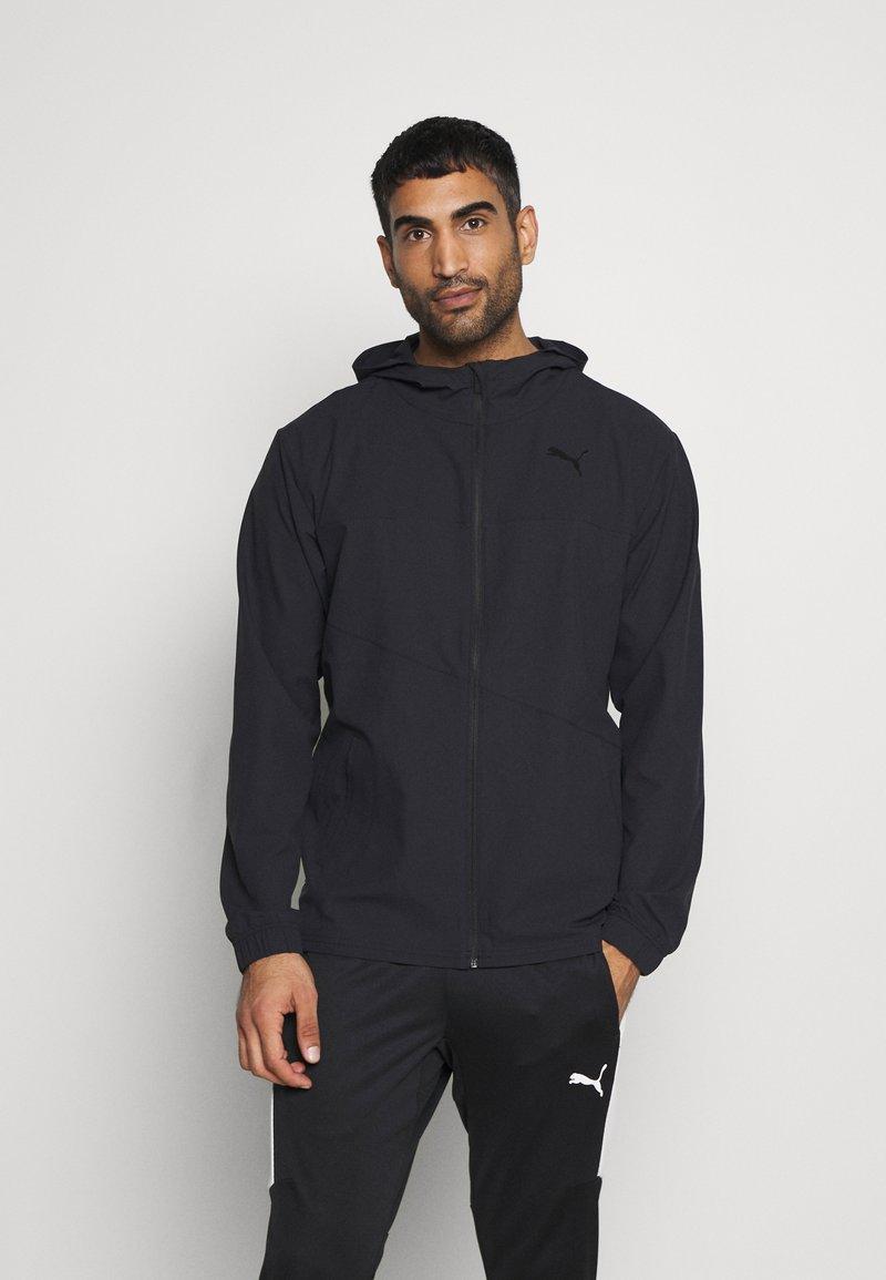 Puma - TRAIN VENT JACKET - Training jacket - black