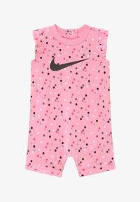 Nike Sportswear - GIRLS FLUTTER SLEEVE ROMPER BABY - Haalari - pink - 2