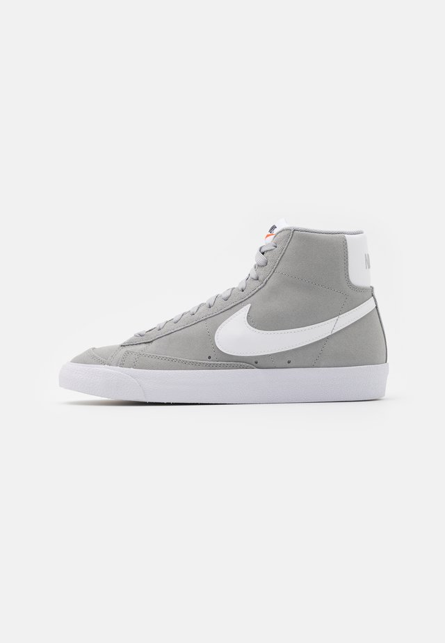 BLAZER MID '77 UNISEX - Zapatillas altas - light smoke grey/white/black
