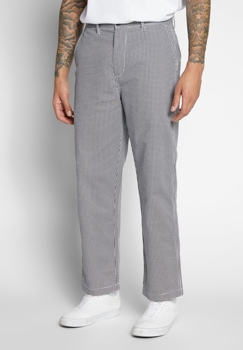 Obey Clothing - HARDWORK PANT - Chino kalhoty - white multi