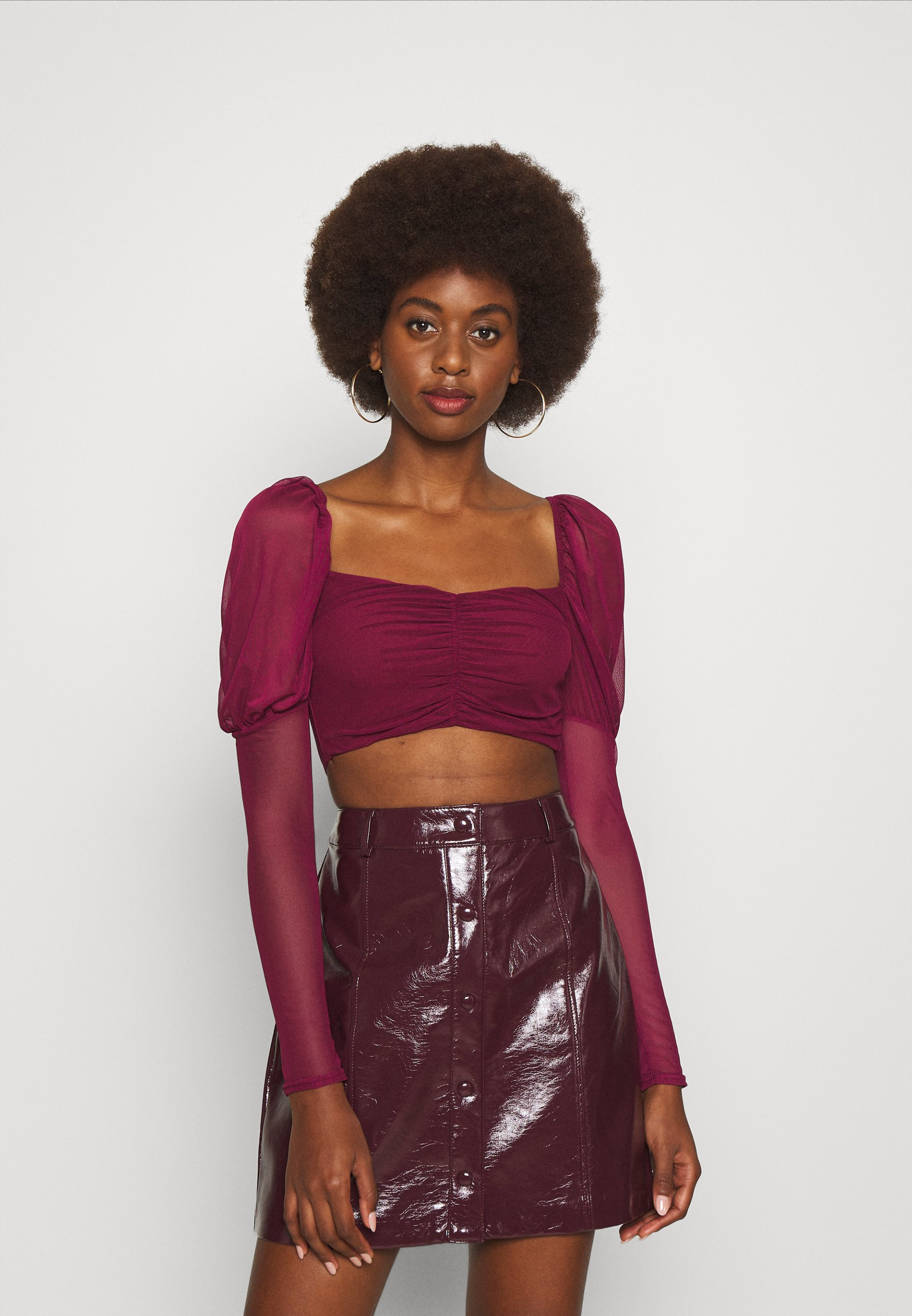 Women MILKMAID RUCHED - Blouse