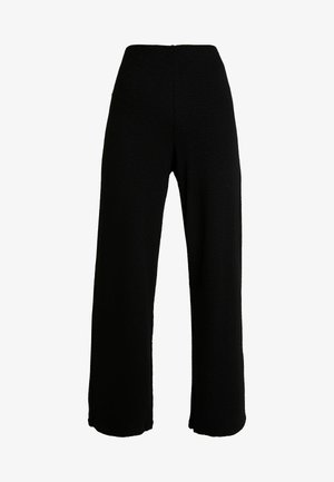 RIAN TROUSERS - Bukse - black