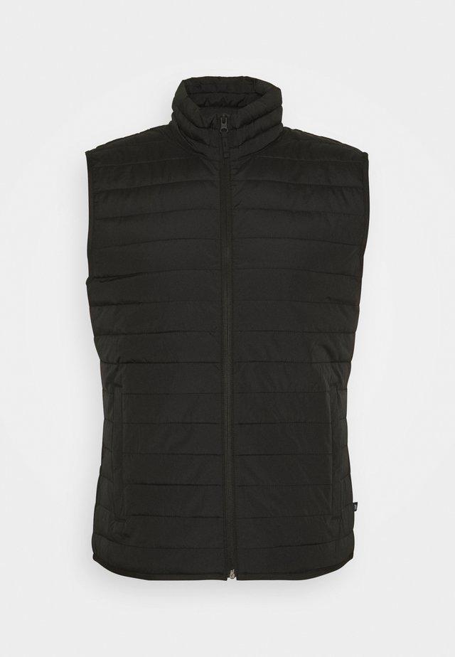 LIGHTWEIGHT PUFFER VEST - Waistcoat - true black