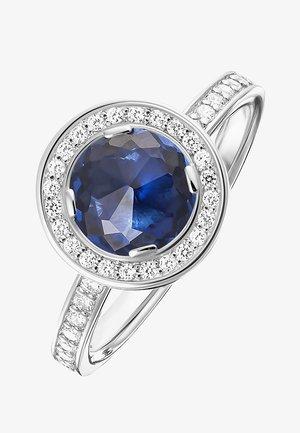 Ring - silber/dunkelblau