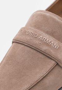 Emporio Armani - Slip-ons - cocco - 6