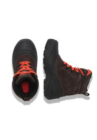 The North Face - Y CHILKAT LACE II - Śniegowce - coffee brown/flare - 1