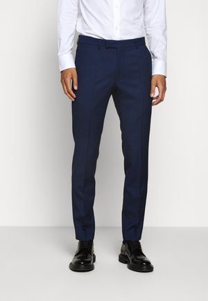 GUN - Suit trousers - light blue