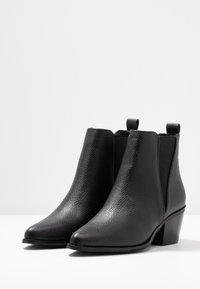 Even&Odd - Kotníková obuv - black - 4