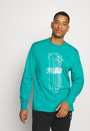FRANCHISE STREET TEE - Long sleeved top - viridian green
