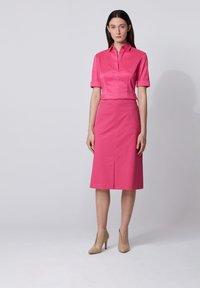 BOSS - BASHINI - Button-down blouse - pink - 1