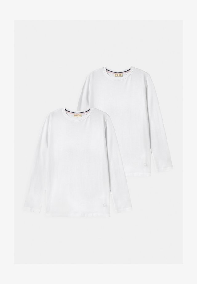 LONG SLEEVES 2 PACK - Long sleeved top - bright white