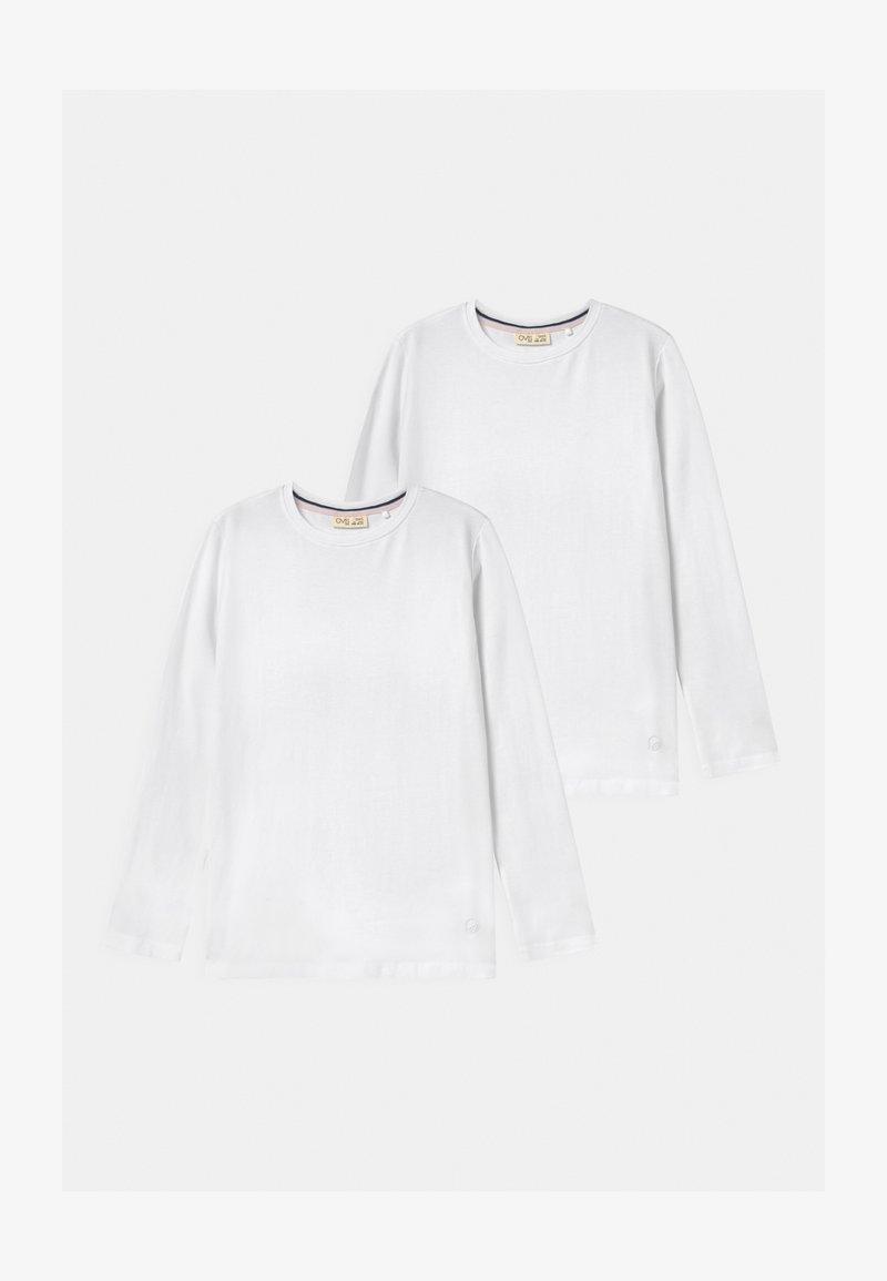 OVS - LONG SLEEVES 2 PACK - Top sdlouhým rukávem - bright white