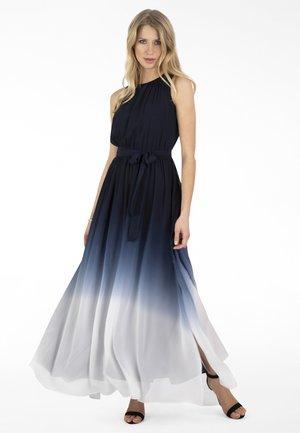Maxi dress - nachtblau creme