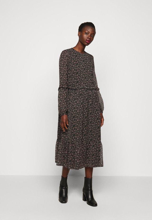 YASMIRA MIDI DRESS  - Korte jurk - black