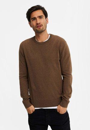 Jumper - cinnamon brown