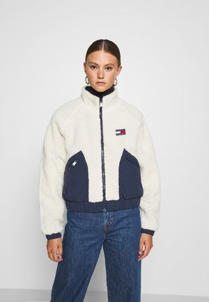 REVERSIBLE JACKET - Kurtka zimowa - twilight navy/white