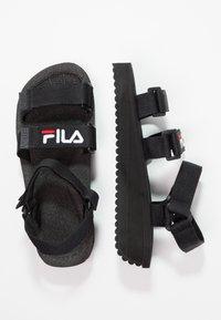Fila - TOMAIA - Sandały na platformie - black - 3