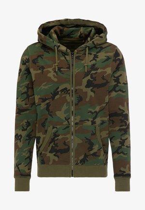 Bluza rozpinana - camouflage