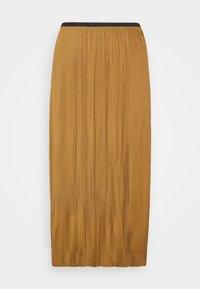 Modström - HELIN SKIRT - Pleated skirt - brown oak - 0