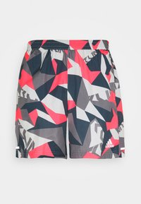 adidas Performance - RUN IT CAMO - Sports shorts - orbit grey/signal pink/legend blue - 4
