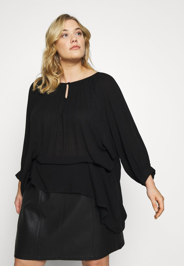 AMI TUNIC - Túnica - black deep