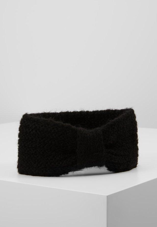 LINA MIX HEADBAND - Panta/korvaläpät - black