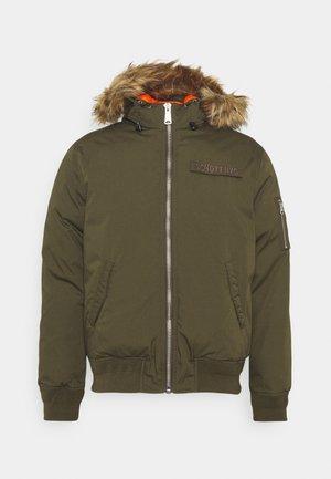 POWELL - Winter jacket - kaki