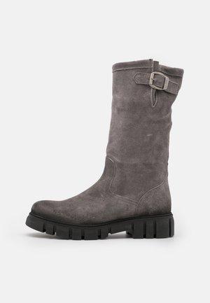 SAURA - Platform boots - celtic ice