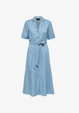 Denim dress - faded denim