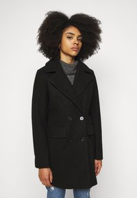 Fashion Union Petite - AIMEE - Short coat - black - 0