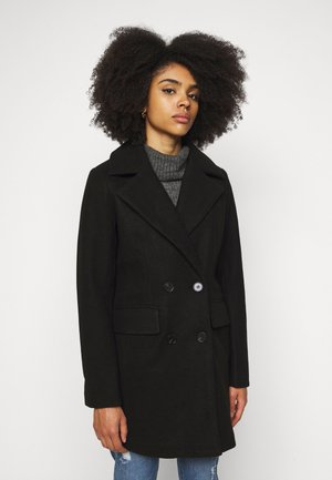 AIMEE - Short coat - black