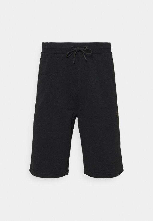 Men's sweat shorts - Pantaloncini sportivi - black