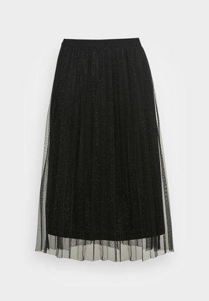 MASOM SKIRT - Jupe trapèze - black