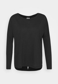 Reebok - SUPREMIUM LONG SLEEVE - Camiseta de deporte - black - 4