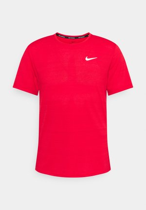 MILER  - Camiseta básica - university red/reflective silver