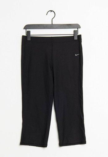 Leggings - Trousers - black