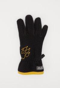 Jack Wolfskin - BAKSMALLA GLOVE KIDS - Gloves - black - 1