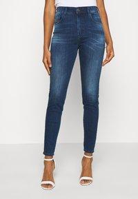 Diesel - SLANDY HIGH - Jeans Skinny Fit - indigo - 3